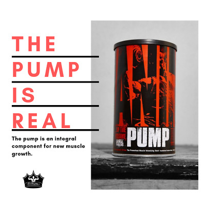 Universal ANIMAL PUMP The Pre-workout Muscle Volumizing Stack - 30 Packs