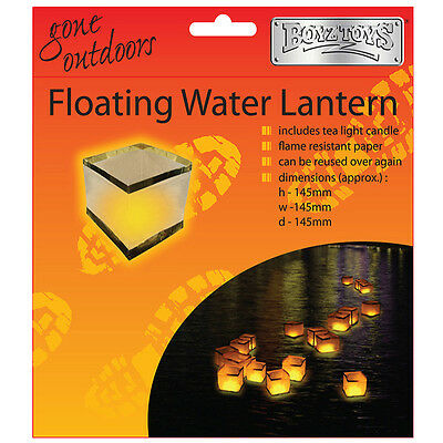 Floating Candle Lantern Pond Wedding Party Celebration Diwali Festival Of Light