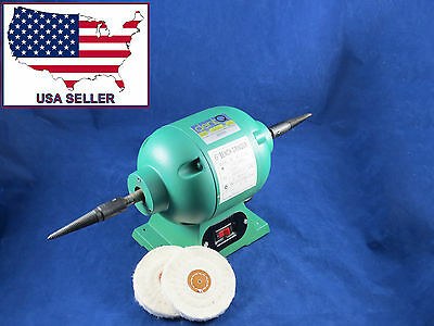 Dental Lab Jewelry Polisher Buffer Grinder Motor 003-2 220V DentQ