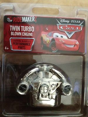 CARS Ridemakerz Twin Turbo Blown Engine Ridemakers Lightning McQueen's Parts NEW