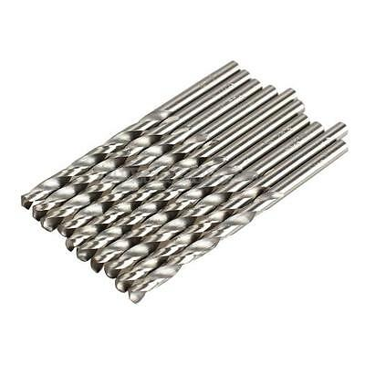 UN3F 10PCS 4mm Micro HSS Twist Drilling Auger bit for Electrical Drill New