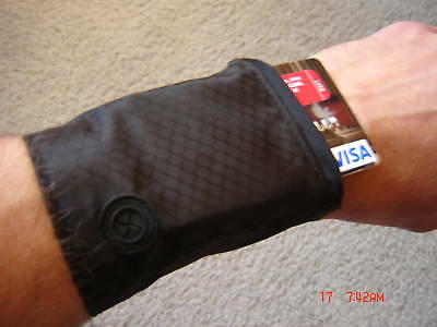 Personal Vibrating Silent Alarm Device Reminder & Wrist Wallet 2 Products In 1