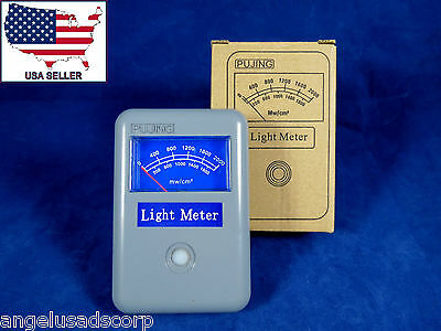 Dental Radiometer Curing Light Meter Tester PUJING