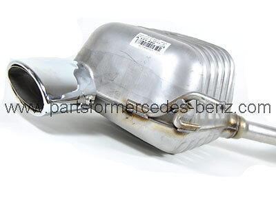 Genuine Mercedes SLK (R171) 2005-2008 Rear Exhaust Box (Left) A1714901521