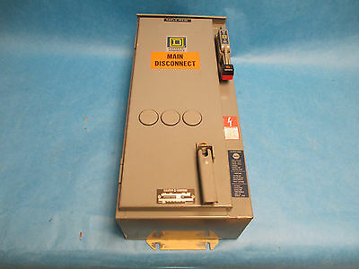 Square D Combination Starter 8538 SCA 11 FT, Size 1 120V Coil 30A 3R Non-Fusible