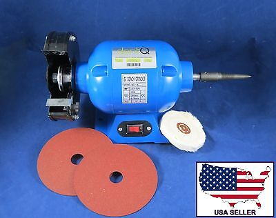 Dental Lab Polisher Buffer Grinder Trimmer Motor 003-3 220V DentQ