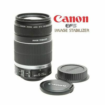 Brand New!! Box never opened!! Canon EF-S 55-250mm F/4.0-5.6 II IS Lens