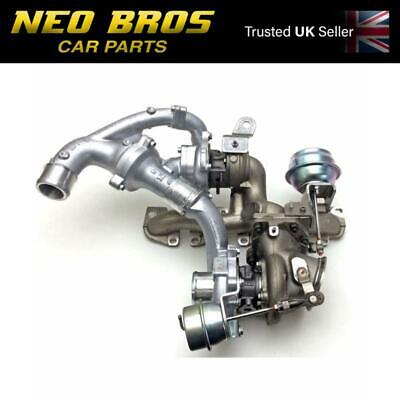 Genuine Twin Turbo Charger Saab 9-3 08-12 1.9 TTiD Z19DTR Diesel, 93194991