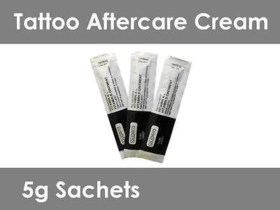 Tattoo Aftercare Cream - Vitamin A & D - Faster healing - 5g Sachets