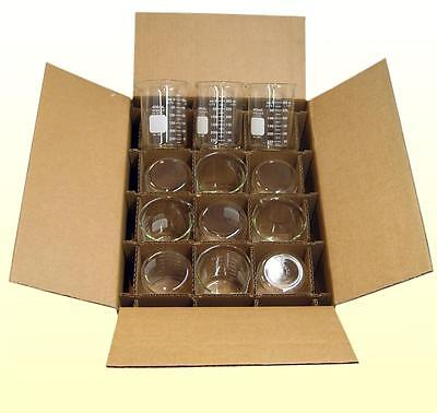 Pyrex Beaker, 400mL, Case of 12, Corning Inc.Free Shipping to lower 48