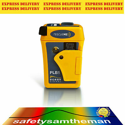 OCEAN SIGNAL rescueME 406MHz GPS PLB1 PERSONAL LOCATOR BEACON - EXPRESS POSTAGE