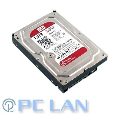 "4x WD 1TB 1000Gb SATA-3 6Gb 64Mb Intellipower NAS RED Hard Drive 3.5"" WD10EFRX"