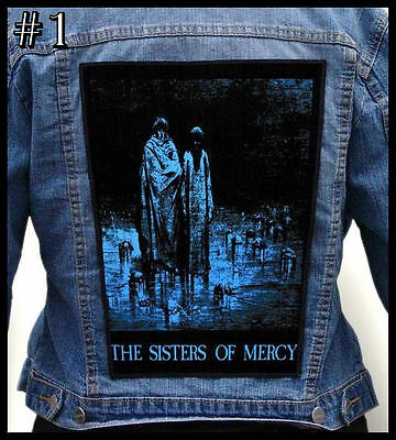 SISTERS OF MERCY  === Huge Back Jacket Patch/Aufnäher === Various Designs