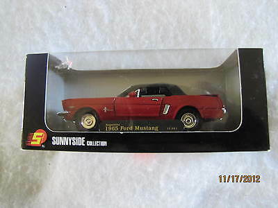 1965 Ford Mustang 1:34 Die Cast By Sunnyside Collection