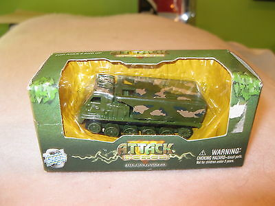 Attack Force Die Cast Metal Truck  By Yat Ming, Limited  Road Tough