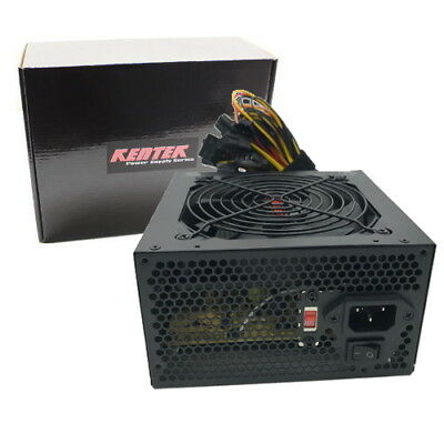 680 WATT 680W ATX 12V POWER SUPPLY 120MM Fan PC Desktop Computer NEW FAN PCIE