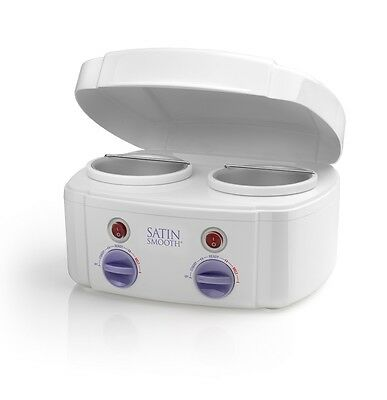 Babyliss Pro Satin Smooth Double Twin Pot Waxing Heater For Wax Lotions & Waxes