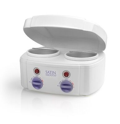 Satin Smooth Double Twin Pot Waxing Heater For Wax Lotions & Waxes