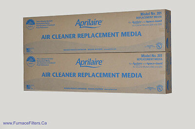 Aprilaire Part # 201 For 2200 High Efficiency Air Cleaners Package of 2.