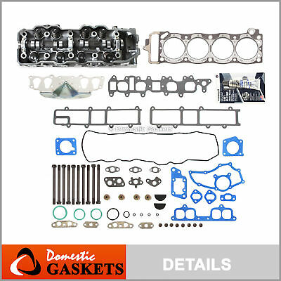 85-95 Toyota Pickup 2.4L Complete Cylinder Head + Head Gasket Set + Bolts 22RE
