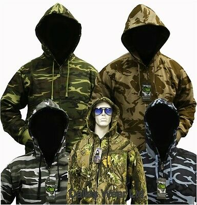 TOKYO LAUNDRY MENS Sherpa Lined Camo Camouflage Winter