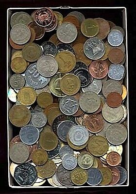 3 Three Pounds of Foreign World Coins. Premium Mix