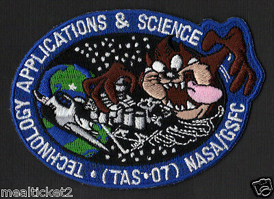 Technology Applications & Science - Tas * 07 - Tasmanian Devil Nasa Space Patch