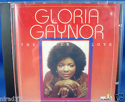 GLORIA GAYNOR The Power of Love CD (New Never Used) PARTY CELEBRATE - Australia