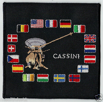 Cassini - International Mission - Nasa Satellite Launch Space Patch