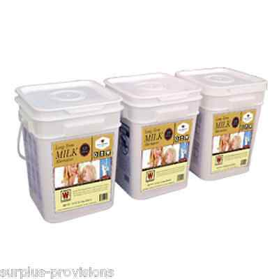 Wise Dehydrated Milk 360 Serving - Long Term Food Storage Shelf Life of 25 Years