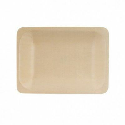 10 x Disposable Bowl, Rectangular, Biowood, Catering & Functions, 200x140mm