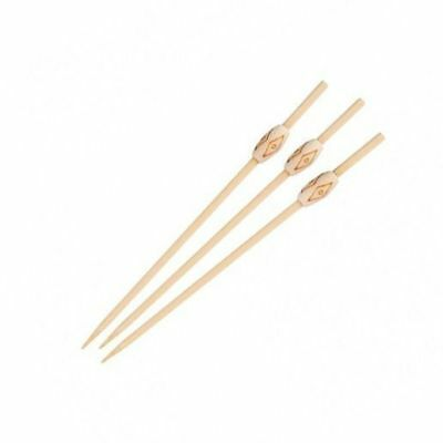 100 x Disposable Bamboo Skewer, Aztec, Catering & Functions, 120mm
