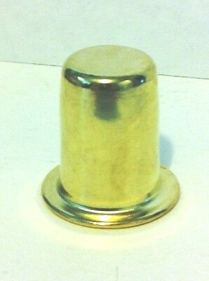 "20993 - 1"" Ht., Brass Plated & Lacq. Finial, 1/4-27F"