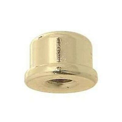 "#20961  3/4"" Dia. X 9/16"" Ht., Brass Plated & Lacquered Finial, Tap 1/4-27F"