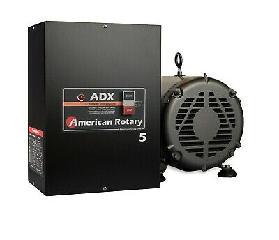 Rotary Phase Converter 5 HP 1 to 3 Phase - CNC Extreme Duty American Made ADX5