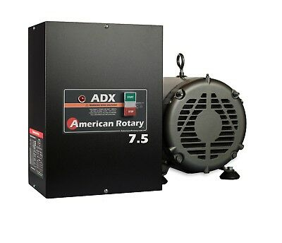 Rotary Phase Converter  ADX7 7.5 HP 1 to 3 Phase CNC Extreme Duty American Made
