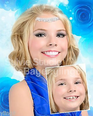 SYLVIE's Photo RETOUCH/Retouching Pageant Picture Natural - Semi - Full GLITZ