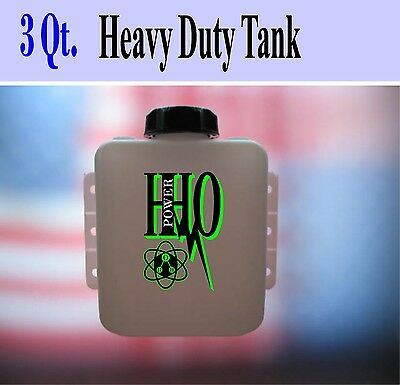 3 Quart Heavy Duty HHO Dry Cell Bubbler / Reservoir / Scrubber/ 2.84 liters Tank