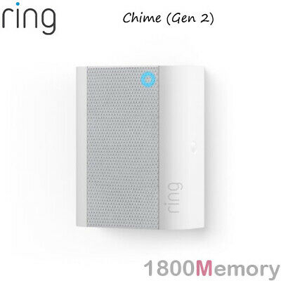 Ring Chime Wireless Door Chime Bell Multiple Alert Tones Volume Control AC Wall
