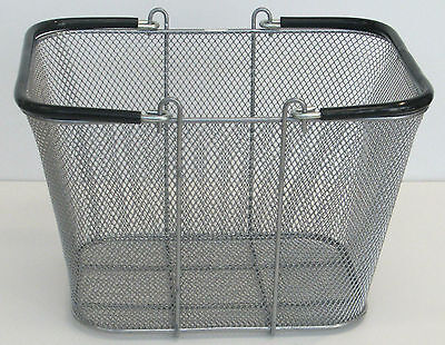 "Metal Wire Tote  7 1/4 "" X 11 7/8"" X 9 1/4"""