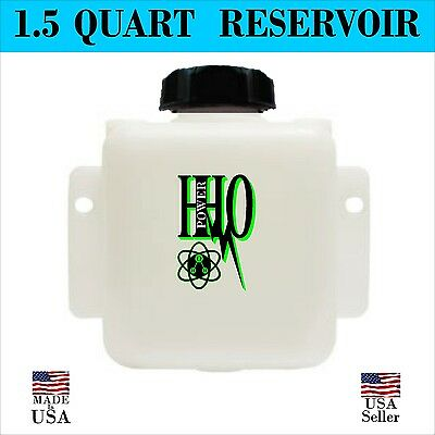 1.5 Quart HHO Bubbler, Reservoir, Tank