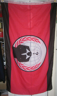 Anonymiss Flag Anonymous 5x3 feet banner Anon 4Chan /b/