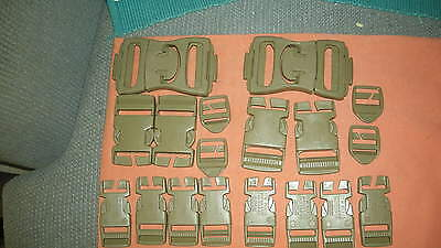 US Military Issue  Molle – Two  Buckle Repair Kits(Tan)
