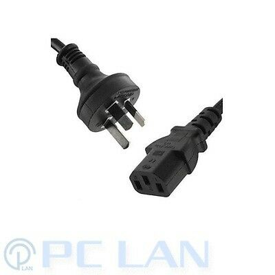 Computer / Monitor Power Cord Cable AU Plug to IEC Dell P/N: 078967