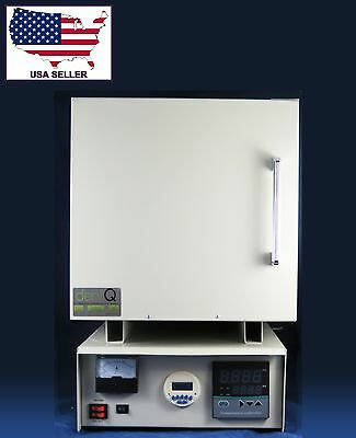 Dental Lab Digital Electric Furnace Lab Ceramic Fiber Burn Out Oven DentQ