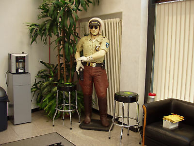 New Jersey Policeman Handmade Statue Very Rare Unique Ashley Furniture Int.