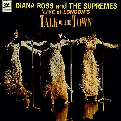 DIANA ROSS & SUPREMES TALK OF THE TOWN LIVE VINYL LP UK