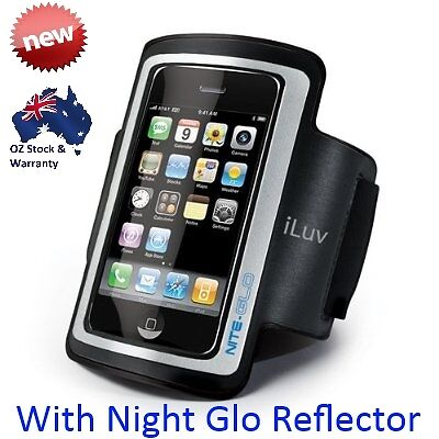 iLUV iPhone iPod Sport Light Weight Armband Black