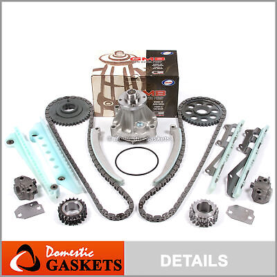 97-02 Ford Mustang Lincoln Mercury 4.6L SOHC Timing Chain Water Pump Kit
