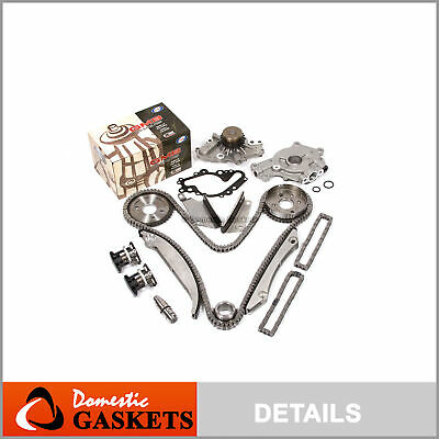 02-06 Chrysler Dodge 2.7L DOHC Timing Chain Oil & GMB Water Pump Tensioner Kit